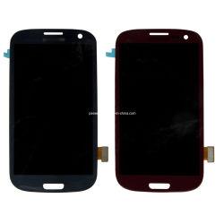 Affichage à Cristaux Liquides de Téléphone Cellulaire Pantalla Complete avec Écran Tactile Digitizer Assembly pour L'affichage à Cristaux Liquides de Samsung S3 I9300 Phone
