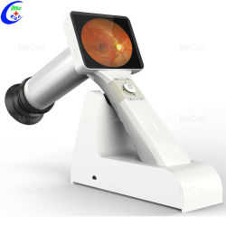Augendiagnosen-Instrument-bewegliche Handoptometrie mustert Fundus-Kamera