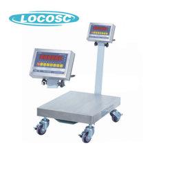 100kg 500kg balança digital CAS armazém móvel postais pesagem dinâmica Scale