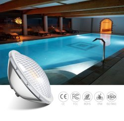 3000K branco quente a luz de LED Substitua o par de halogênio56 Luz Piscina 300W 12V