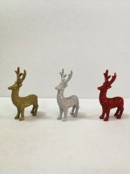 Material Polyresin Bling ciervos Decoración de Navidad y regalos