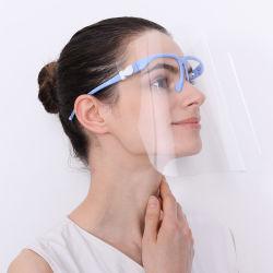 Tipo de quadro Anti-Fog Óculos transparente protetor de rosto Anti-Oil respingos de Máscara de protecção