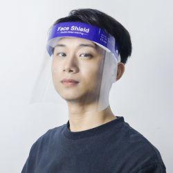 حزمة واقي الوجه 12، غطاء واقي الوجه الشفاف القابل لإعادة الاستخدام لمنع الضباب، غطاء السلامة على الوجه بالكامل مع إسفنج الراحة، حزام قابل للضبط لملاءمة كل الأحجام