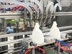 Crème/ pâte/ sauce/confiture/miel/liquide/détergent/shampooing/huile/bouteille d'eau/boisson remplissage automatique des pistons étiquetage Machine d'emballage de la ligne de production