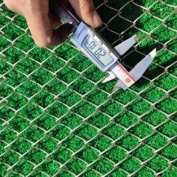 50mm Loch-Kurbelgehäuse-Belüftung beschichteter galvanisierter Kettenlink-Zaun