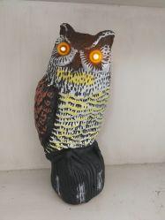 El funcionamiento del sensor, Bright Eyes + Sonido repelente de aves, Owl Bird