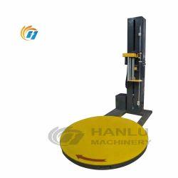 PLC는 깔판 견장을 달기를 위한 자동적인 포장 기계 깔판 뻗기 필름 감싸는 기계를 통제한다