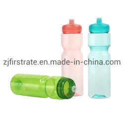 BPA liberano l'abitudine che preme il tipo Portable di ginnastica di sport del coperchio che beve liberamente la plastica promozionale della bottiglia di acqua di stile BPA dell'animale domestico poco costoso libero