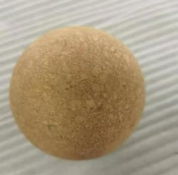 شعار مخصص صديق للبيئة مادة طبيعية عالية الكثافة كورك كرة تدليك كرة يوغا كورك
