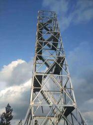 جودة خدمة السعر لفائف الصلب الطاقة الكهربائية 200kv ناقل الحركة برج الخط