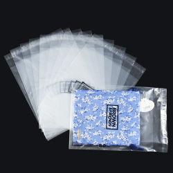 Fabrik-kleidet niedriger Preis-transparente selbstklebende Großhandelsrobbe LDPE, das Plastiktasche Poly /Clear packt