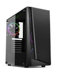 Best Selling Modelo Quente Ventilador RGB Desktop ATX gabinete do computador para jogos