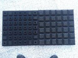 Professional Commtercial caucho Inicio Gimnasio Piso alfombra de goma