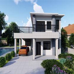 1500 квадратных метров 2 этажа/Быстрая сборка/Wind-Resistant/Earthquake-Resistant/Fire-Proof легких стальных/роскоши и сборных конструкций/ сегменте панельного домостроения в дом с 3 спальнями