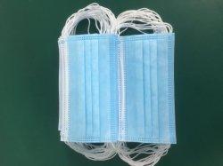 Les civils couleur personnalisable meilleur masque non tissés jetables de 3-Ply Contour de haute qualité facile à l'haleine étui de protection civile en silicone de protection
