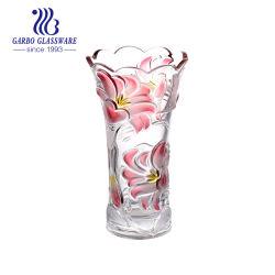 La decoración del hogar nuevo diseño de florero de vidrio para escardar (GB1509LB-PDS)