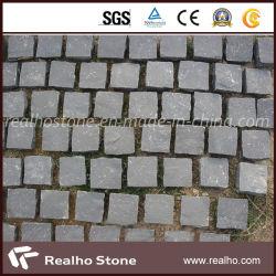 Prix bon marché naturel Zhangpu Split basalte noir Pierre de galets de granit noir