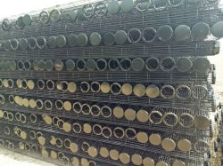 Saco de filtro de Frame/gaiola para o coletor de pó com as conexões do tubo de Venturi