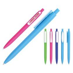 Logo Silver de stylo à bille plastique Stylo avec impression de logo pour la promotion de la papeterie de bureau et l'utilisation