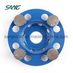 Diamant-reibender Hilfsmittel-konkreter Fußboden-reibender Block für Steinmarmorgranit