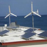 Мощность солнечной и ветровой турбины гибридная система 500Вт, 1 квт, 2 квт, 3 квт полный комплект комплекты