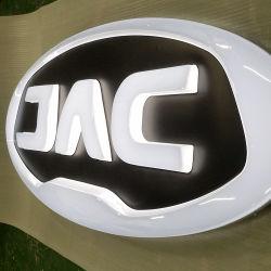 の名前が付いているカスタムレーザー 3D ステンレススチールカーロゴ トヨタ