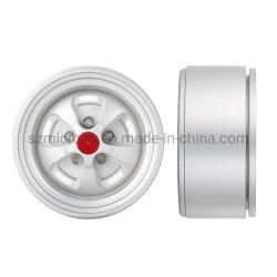 """軸Scx10 90046 Trx-4 D90 Cc01 1/10 RCのクローラーのためのおもちゃRC車の金属のスライバ1.9 """" Beadlockの車輪の縁RC制御"""