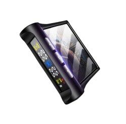 Voiture Smart SGPT Système Surveillance Pression Pneumatiques l'énergie solaire écran LCD numérique auto de la sécurité des systèmes d'alarme de pression des pneus