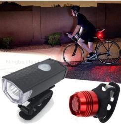 XPE ricaricabile LED 2 in 1 insieme anteriore dell'indicatore luminoso della coda della bicicletta