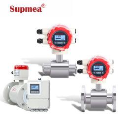 Faible débit de liquide magnétique électronique des débitmètres de pression différentielle débitmètre électromagnétique de l'eau