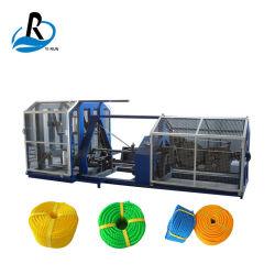 기계를 만드는 자동적인 라피아 야자 황마 삼실 면 꼬이는 PE PP 애완 동물 나일론 플라스틱 밧줄