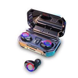 Nouveaux écouteurs stéréo des basses TWS 5.0 Sport Casque Écouteurs sans fil numérique à LED boîte de chargement des écouteurs Bluetooth Casque