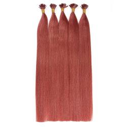 #35 цвет волос с плоским наконечником расширений благоприятных цен на 10A бразильского высшего качества 100% Реми человеческого волоса расширений Virgin волос