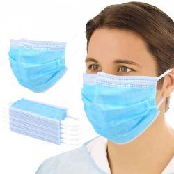 3 a gettare Non-Civili maneggiano medico e chirurgico protettivi con il ciclo dell'orecchio diplomato CE & legano sulle maschere di protezione