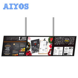 Neu! ! 32''43''49''55'' Ultra Thin Design Wandhalterung Android 6,0 Dual Core Intelligent All-in-One LCD Digital Signage Player