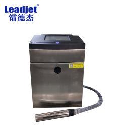Pantalla táctil de chorro de tinta blanca Fecha de impresión de la codificación de mecanizado en el cable/cable/metro/botella