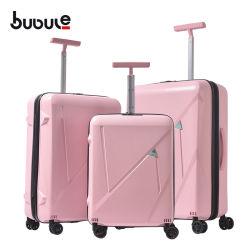 "Bubule 20 "" 24組の"" 28 ""贅沢な旅行ピンクの女の子3PCの荷物セット"