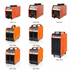 Saldatrice portatile dell'invertitore di CC di serie 100/120/140/160/180/200/400/500/630/1000A di IGBT Arc/MMA/Zx7