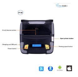 Android iOS 프린터 발열(Bluetooth WiFi 연결 지원 레이블 바코드 텍스트 및 그래픽 인쇄 TS-R400
