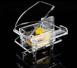 記念品のための熱い販売の黒の水晶ピアノ水晶モデル