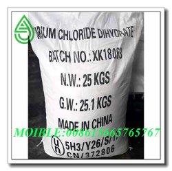 Cloreto de bário com boa qualidade na China com pó branco de 99% de pureza