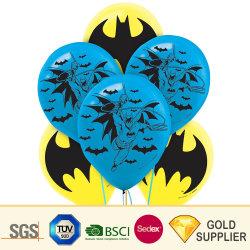 Bat Logotipo personalizado de esbirros de inyección de tinta de impresión de diversos tipos de Lámina de mylar inflables Helio tanques de agua de goma látex gigante Boda decoración globos Juguetes