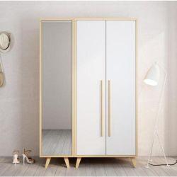 미러 회의 침실 옷장을 옷을 입는 북유럽 최소한 현대 옷장 위원회