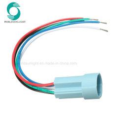 Spina dello zoccolo per 16mm connettore dello zoccolo del collegare dell'interruttore di 5 di Pin pulsanti del metallo