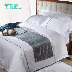 Roupa de cama de algodão orgânico 100% de tecido de algodão Lençóis Produtos de hotel