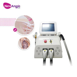 ND YAG 1064nm Depilación Láser Q Switch eliminar tatuajes belleza de gran calidad de la máquina láser de diodo 808nm de eliminación de manchas de pulso largo