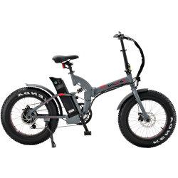 22pouces mini Cyclomoteur électrique pliant Sepeda Listrik 500W Vélo pliable Ce vélo Fat pneu neige électrique avec des enfants Summer Camp