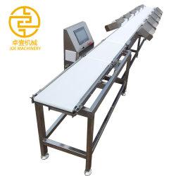 Le tri de la machine multifonctionnelle Échelle de poids de la machine de pesage à fonctionnement vérifier peseur Food Machine