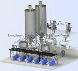 PVC Poeder Batch Dosing Mixing System/Mixing machine/Vacuum Transporting System/pneumatisch transport Systeem/mengmachines/automatisch invoersysteem