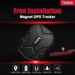 Le GPS tracker voiture 5000mAh 90 jours en veille 2g véhicule Tracker localisateur GPS étanche Moniteur de la voix de l'aimant Free Web APP